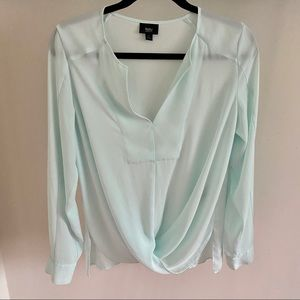 Mossimo Twist Front Blouse